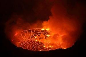 Nyiragongo Volcano DRC & CB