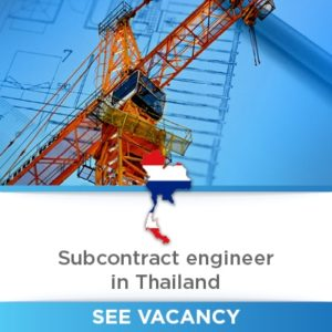 Subcontract Engineer thailand