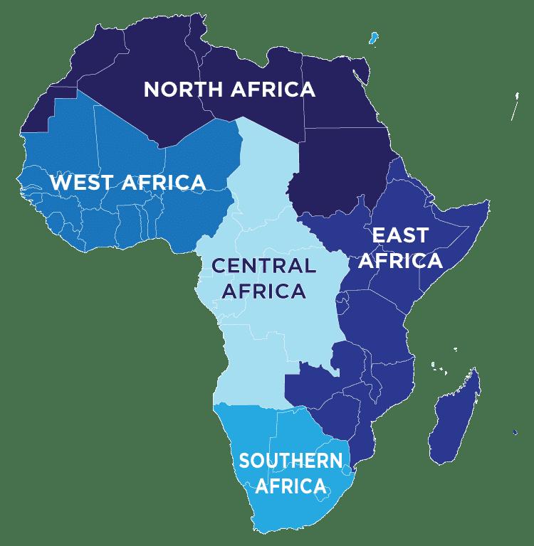 Africa Regional Map